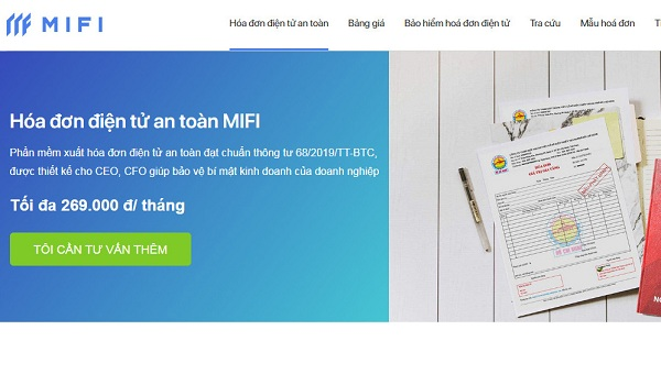 MIFI đảm bảo các tiêu chí về phần mềm hóa đơn điện tử an toàn