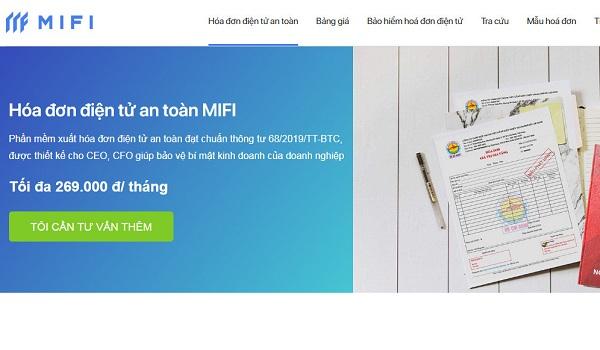 MIFI là phần mềm hóa đơn đang được ưa chuộng hiện nay.