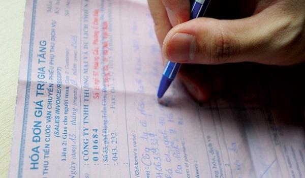 Vi phạm hóa đơn do lỗi sử dụng hóa đơn, chứng từ