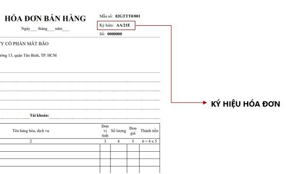 Ký hiệu hóa đơn giúp quản lý dễ dàng các hóa đơn điện tử đã được lập