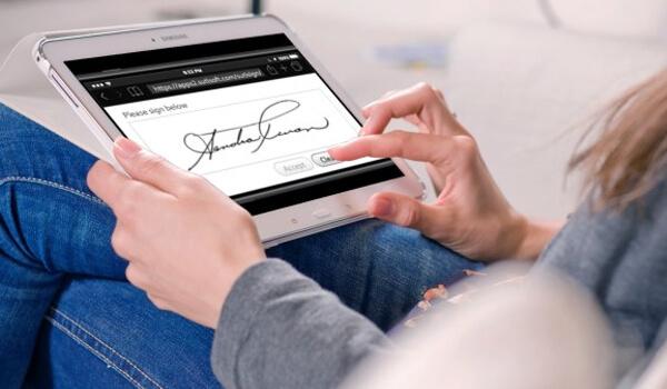 Chữ ký điện tử hợp pháp